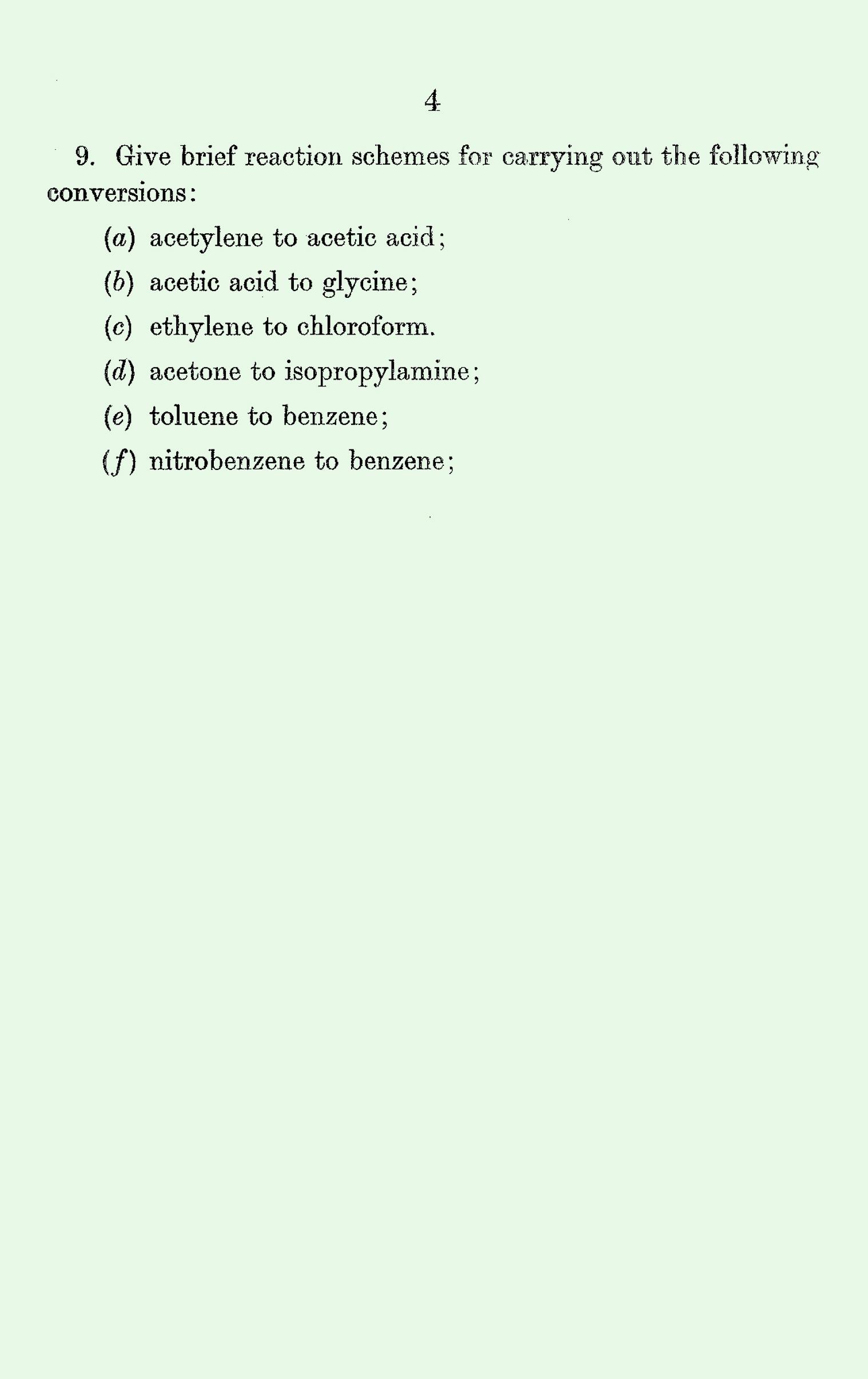 1963 S Level Exam Papers